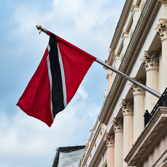 Trinidad and Tobago high commission London Flag