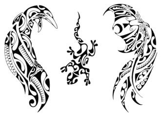 Maori flash set