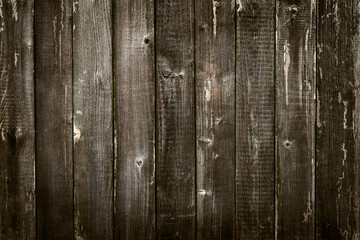 Wooden antique plank background texture vignette