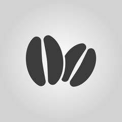 The coffee icon. Coffee symbol. Flat