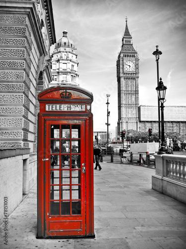 Poster London impression