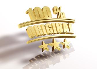 100 Prozent Original - Gold