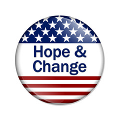 Hope and Change Button