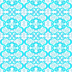 Illustration of blue pattern