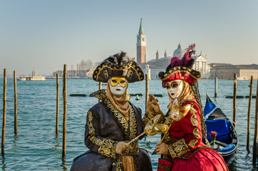 Masks at the Carnival of Venice