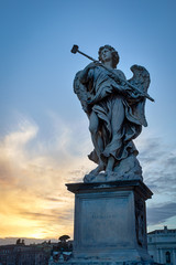 Statue of an angel - Rome