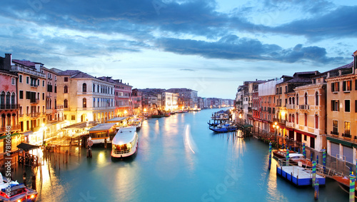 Staande foto Venice Grand Canal - Venice from Rialto bridge