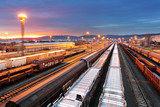 Train freight - Cargo railroad industry - 78161068