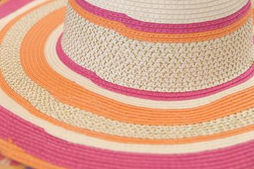 Color summer woman's hat