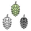 Hop beer sign symbol label - 78162689
