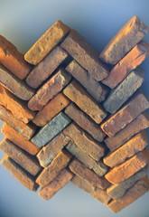 Ancient roman bricks-Oiasso museum
