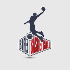 Basketball player  silhouette
