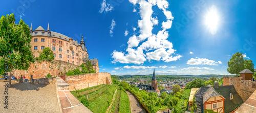 Fotobehang Kasteel Landgrafenschloss, Marburg