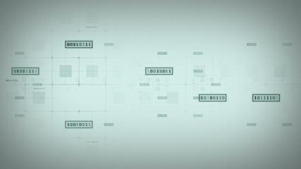 Binary Data Blocks White Tracking