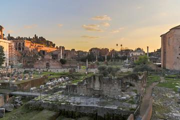 Forum Romanum at Dusk