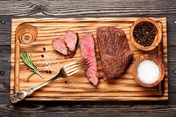 beef steak medium