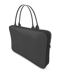 Black bag for laptop