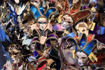 venezia maschere di carnevale