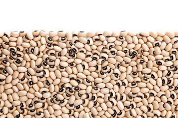 Black eyed peas with copy space