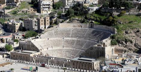 Roman Theatre in Amman, Jordan