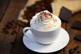 Heiße Schokolade mit Sahne © Printemps
