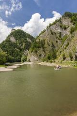 Pieniny, Przełom Dunajca