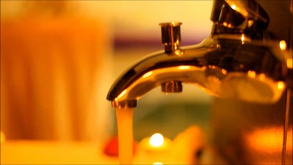 open the tap water, the water pressure in the bathroom