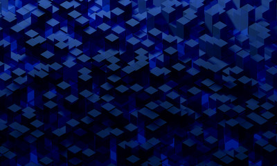Cubes surface background
