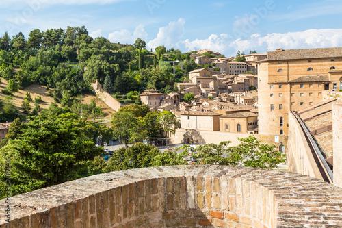 Zdjęcia na płótnie, fototapety, obrazy : medieval castle in Urbino, Marche, Italy