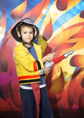 Fireman boy