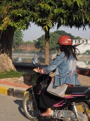 Transporte en Mandalay (Myanmar)