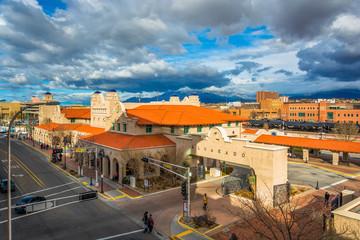 View of Alvarado Transportation Center, in Albuquerque, New Mexi