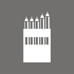 Icono caja de lápices FO