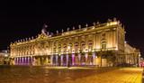 Hotel de Ville (City Hall, Palais de Stanislas) in Nancy, France