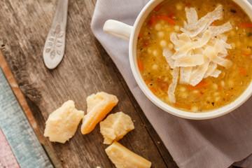 soup with lentil