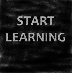 Start learning!