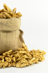 Walnut in Gunny Bag