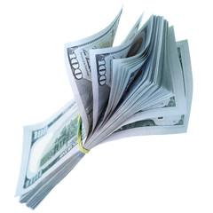 Bundle of US dollars