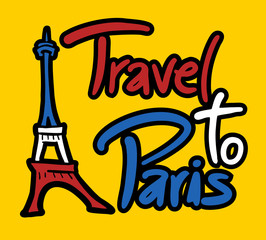 Travel to Paris message