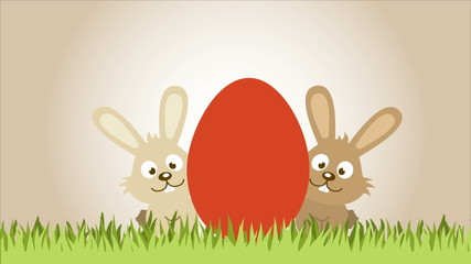 Easetr eggs, Video animation, HD 1080