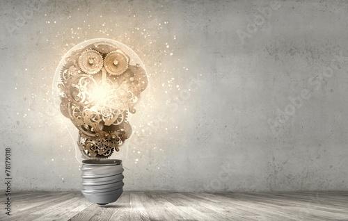 Leinwandbild Motiv Constructive thinking