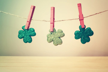 Saint Patricks Day ornaments