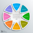 Infographic 8-Step Process #Vector