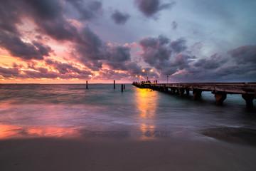 Sunset at Coogee Beach