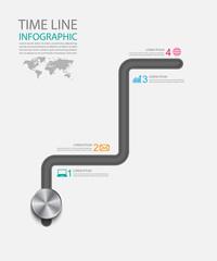 Infographic ,vector