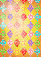 Vintage and patchwork background