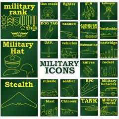 militaryiconsGREENplates