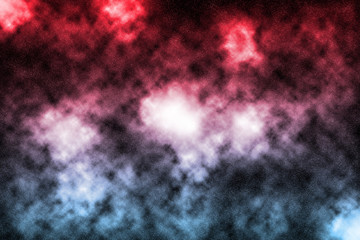 Red and Blue Nebula