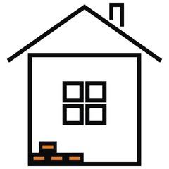 house,black silhouette
