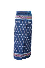 Thai Cotton skirt on white background